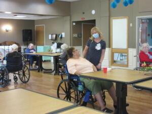 National Nursing Home Week 2021: A Visit From Santa